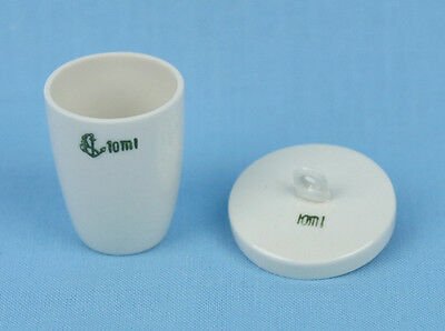 10 mL PORCELAIN CRUCIBLE with LID