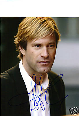 Aaron Eckhart Thank You For Smoking Signed 8X10
