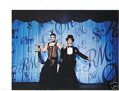 Joel Grey signed photo/still from Cabaret-AA Win for Best Supporting Actor