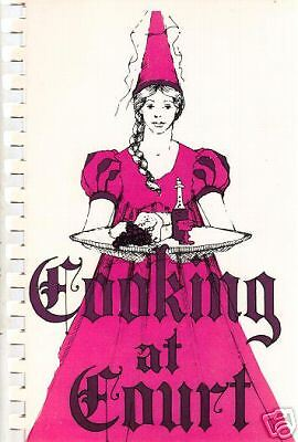 WESTFIELD MA 1975 VINTAGE MASSACHUSETTS *COOKING AT COURT COOK BOOK *WOMENS CLUB