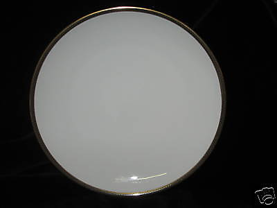 HUTSCHENREUTHER - HUT797 COUPE GOLD TRIM DINNER PLATE