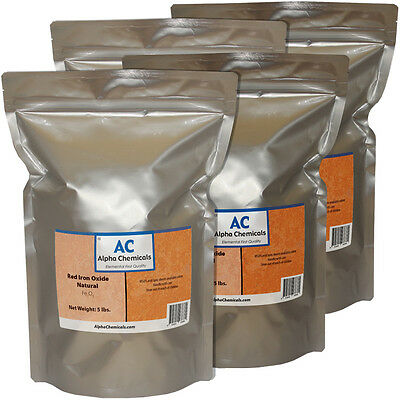 20 lb Red Iron Oxide  - Fe2O3 - Used in thermite