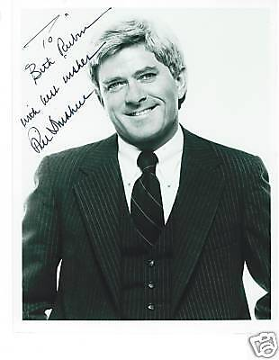 Phil Donahue signed photo-The Phil Donhue Show, 9 Emmy Awards--