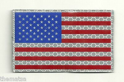American Flag Infrared Infra Red  Ir Patch Hook And Loop