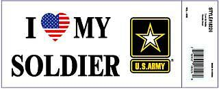Army I Love My Soldier Decal