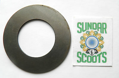 GP.LI.SX AND TV GEAR SHIM. 3.0mm. SUITABLE FOR LAMBRETTA SCOOTERS