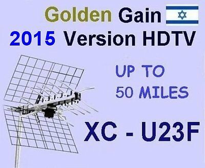 High Quality High Gain Outdoor UHF DTV Antenna XtrmRANG