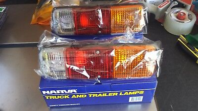Toyota Landcruiser FJ40 Early Series Pair of Narva Rear Tail Lights Lamps 86200