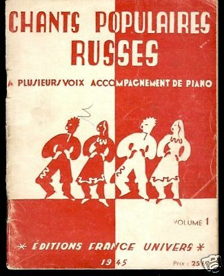 Chants Populaires Russes Vol.1