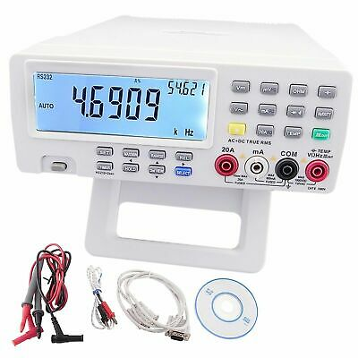 VC8145 80000 countBench-Top MultiMeter AC/DCV/A R C F T