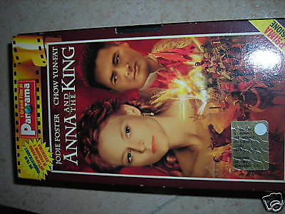 Vhs  Anna And The King Con Jodie Foster Chow Yun-Fat