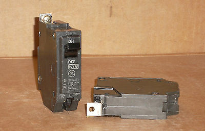 LOT OF 3 GE General Electric Breaker THHQB1120 20 Amp 20 A 20A 1P 1 POLE