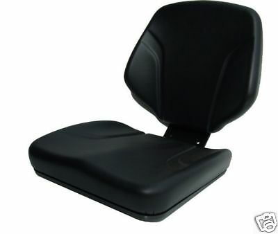 KAB P6 Pan Seat Static FORKLIFT ROLLER DUMPER MOWER TRACTOR Seat Replacement