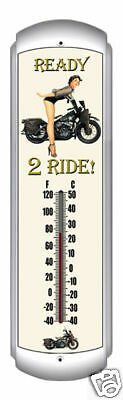 Indoor/Outdoor Thermometer - Ready To Ride
