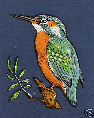 KINGFISHER BIRDS CRAFTS  DECALS TRANSFERS x50(Small)