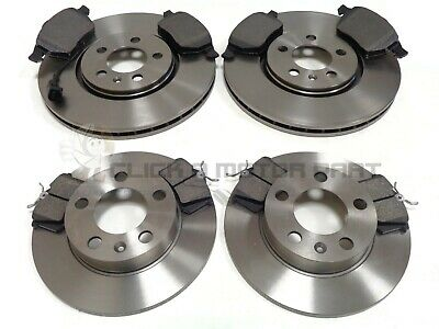Front Vented Brake Discs Skoda Fabia 1.4 16V Estate 2006-07 80HP 256mm