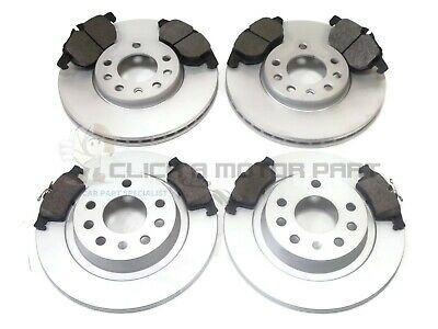 Saab 9-3 93 2002-2009 Front And Rear Brake Discs And Pads Set New Kit