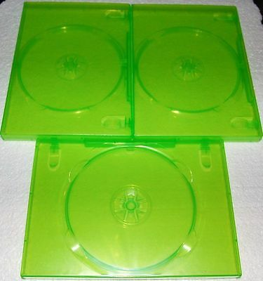 100 Xbox 360 New Standard Dvd Cases, Transparent Green Bl73Xbox-New