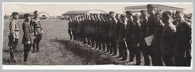 WW 2 Russian military photo of pilots in airfield
