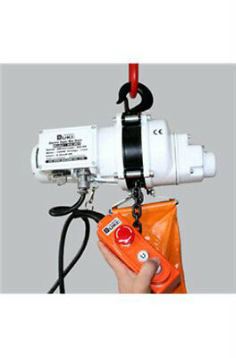 Electric Chain Hoist 125kg SWL 240 volt Less Than 0.5