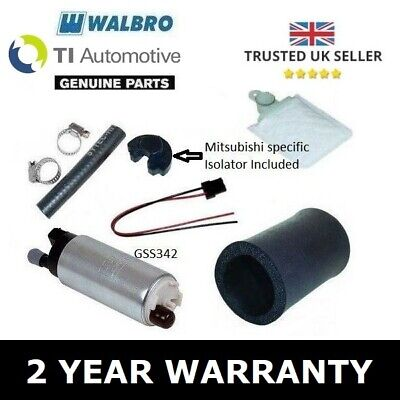 Walbro 255 Fuel Pump Kit - Mitsubishi Lancer Evo 1 2 3 4 5 6 7 8 9 Uk & Import