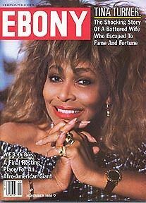 Ebony magazine nov 1986 Tina Turner Kool & the Gang