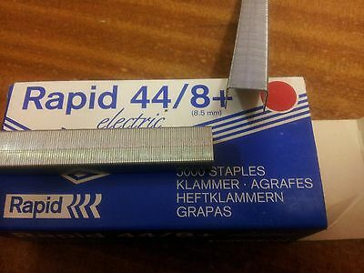 5,000 Rapid 44 Series Staples, 8mm, R100E Staples