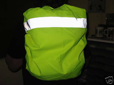 Reflective Backpack Covers- Night Safety (2) Heavy Duty