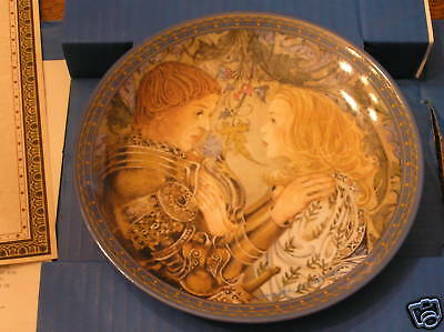 Sulamith's PLEDGE Love Song 2nd Issue Limited-Ed. Collector Plate w/ Certificate