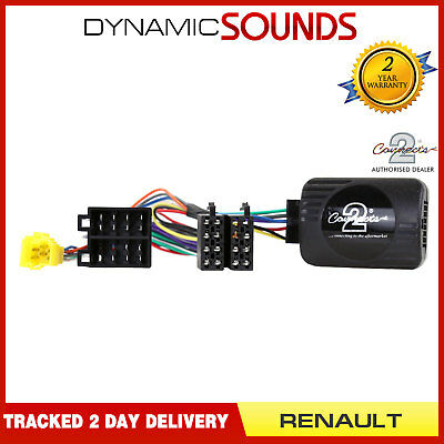 SONY - Steering Wheel Stalk Adaptor Lead For RENAULT Clio