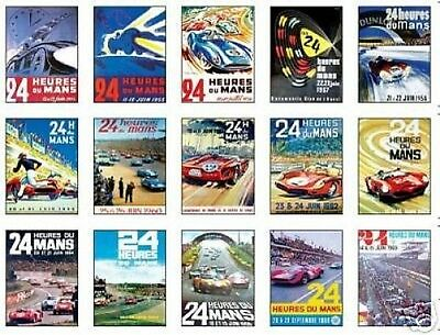 Le Mans F1 Grand Prix Early Posters Trading Card Set