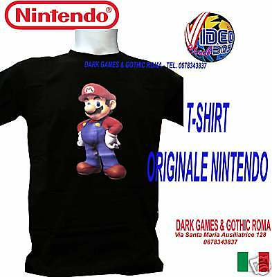 "T-Shirt Originale Super Mario Bross  Taglia ""l"" Large"