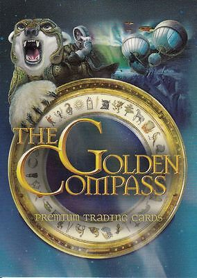 Golden Compass Premium Trading Card Set (72 Cards)