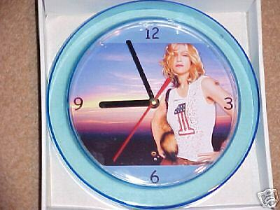 "MADONNA NOVELTY WALL CLOCK 7"" Hot NEW Design  ""L@@K"""