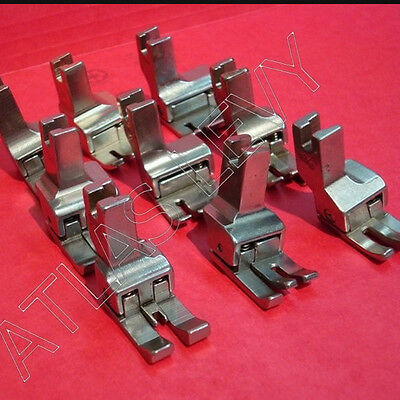 Set of Compensating Presser Feet for Sewing Machines