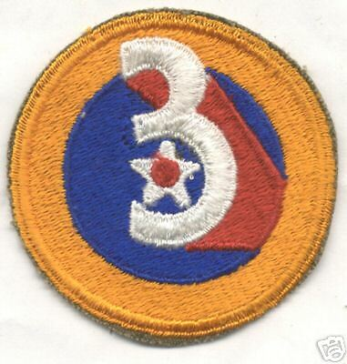 WW II 3rd AIR FORCE patch