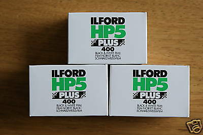 ILFORD HP5 PLUS 35mm 36 exp B+W (3 Pack) ***CHEAPEST***
