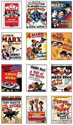The Marx Brothers Film Poster Trading Card Sheet