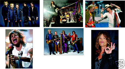 Aerosmith Steven Tyler 6 Card POSTCARD Set