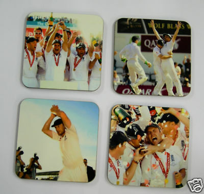 England Ashes 2009 Cricket Drinks Coaster Set