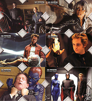X-Men Last Stand Trading Card Set (72 Cards)