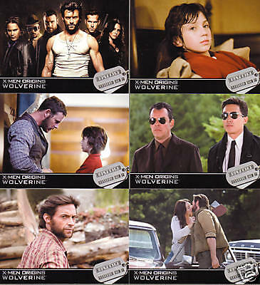 Wolverine Trading Card Set (72 Cards)