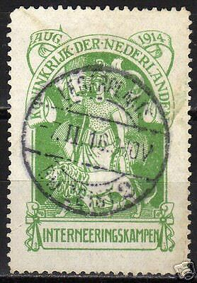 Netherlands 1916 NVPH Internering 1  CANC F/VF