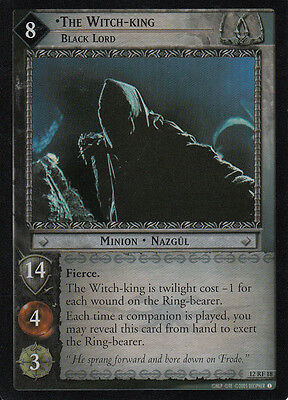 LOTR TCG Black Riders 12RF18 The Witch King