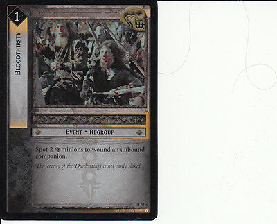 LOTR TCG Shadows 11RF8 Bloodthirsty