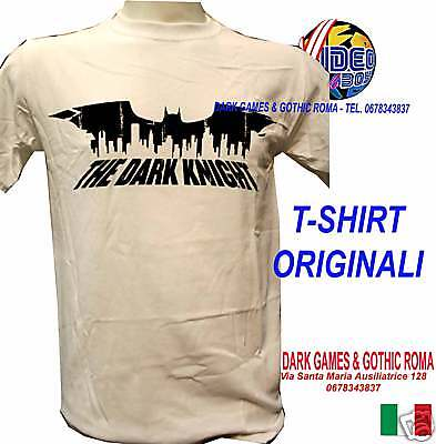 T-Shirt Batman The Dark Knight Originale Talglia Xl New