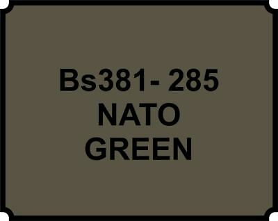 Cellulose Car Body Classic Vintage Paint BS381-285 NATO GREEN Gloss