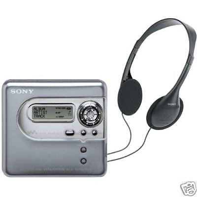 Sony MZNH600D Hi-MD MiniDisc Recorder - NEW