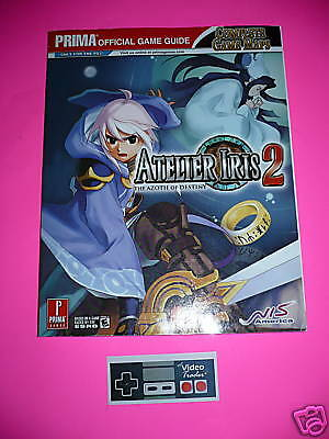 Atelier Iris 2 the Azoth of Destiny Official Strategy Guide Book PS2 New Prima