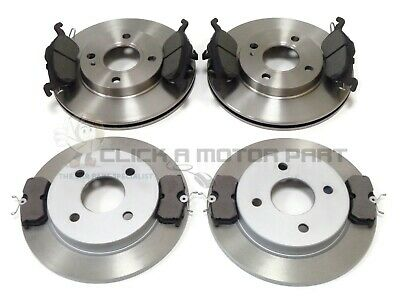 FORD FOCUS MK1 1.8 TDCi 1998-2004 FRONT & REAR BRAKE DISCS AND PADS SET NEW